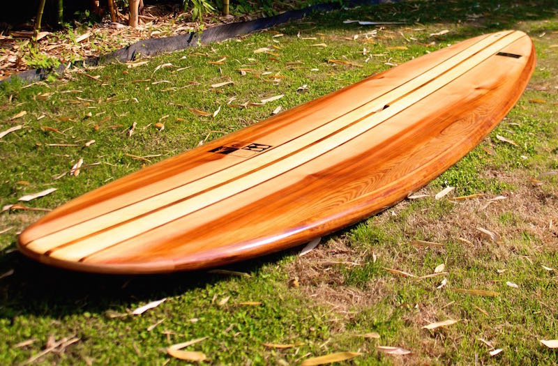 Wood Sup Paddleboard ~ Wooden surfboards silver paddle boards