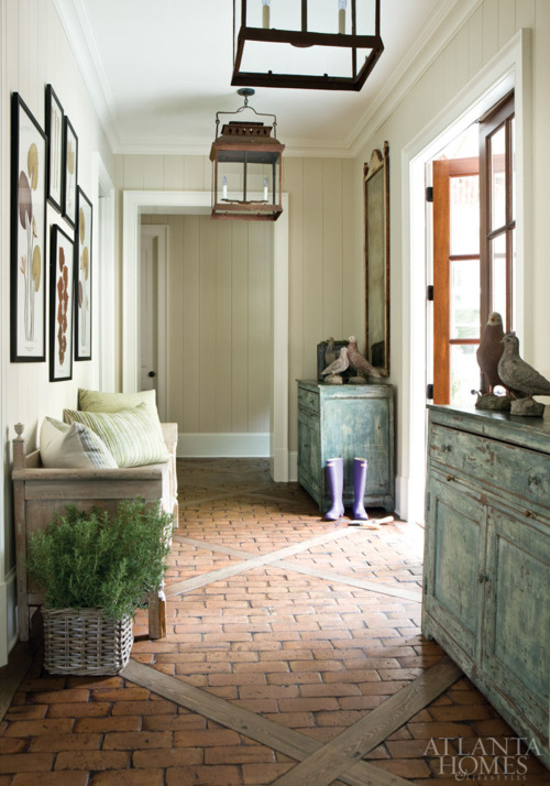 Love this mud room floor content in a cottage Mudroom floor