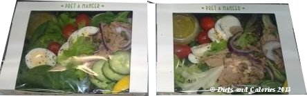 Pret a Manger Tuna Nicoise salad