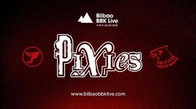 Pixies en el Bilbao BBK Live del 2016