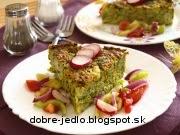 Jemný brokolicový nákyp - recept