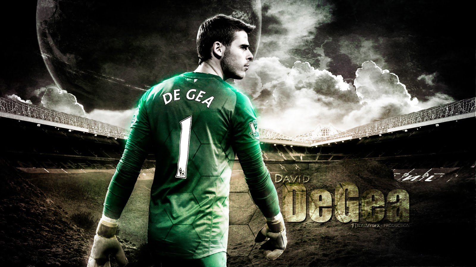 David De Gea 2014 HD Wallpapers
