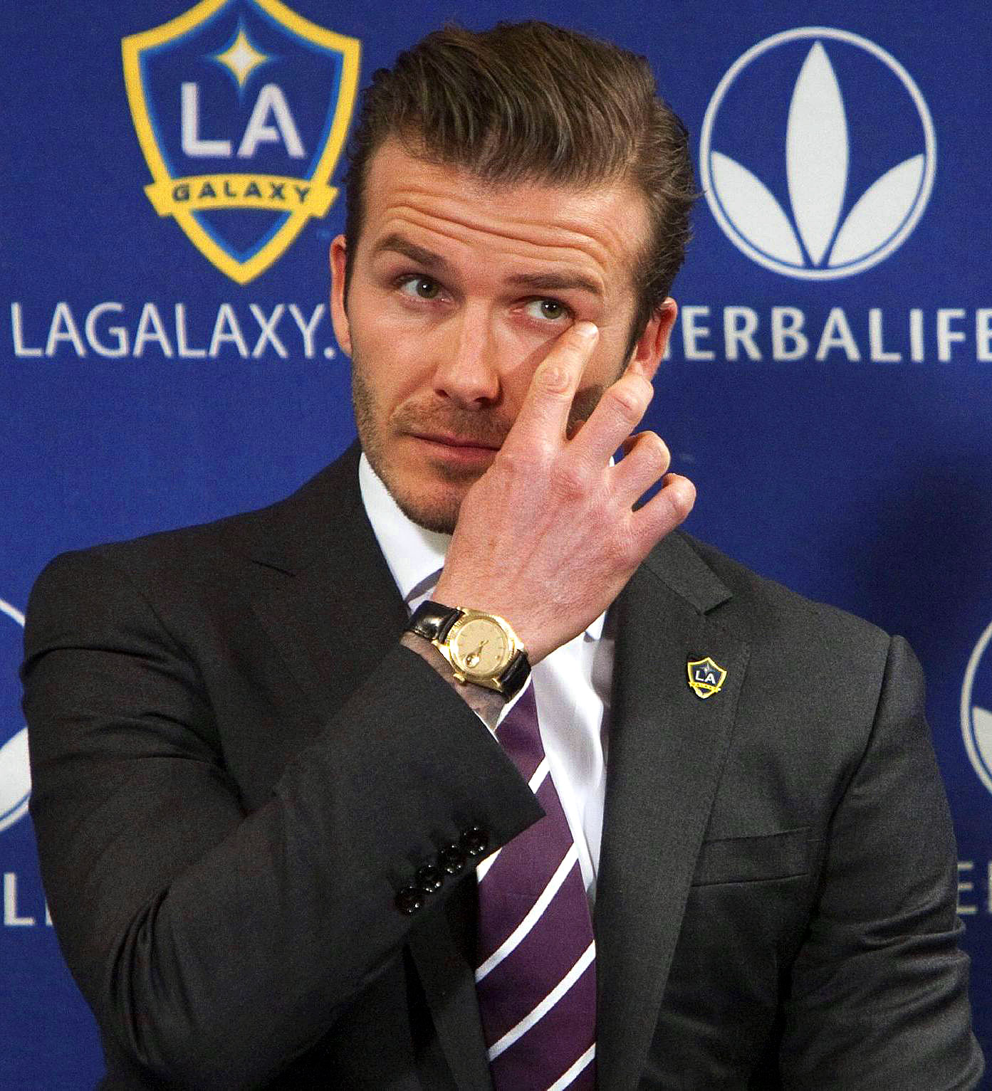 David Beckham Watch Rolex
