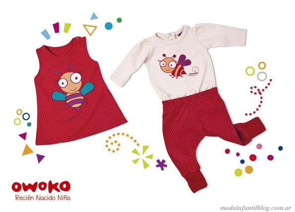 indumentaria infantil owoko invierno 2013