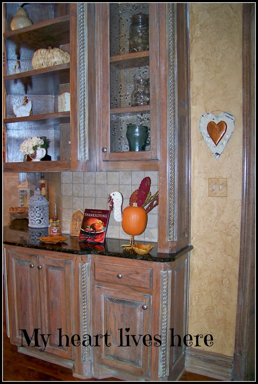 Thanksgiving comes to our kitchen my heart lives here for Our life in the kitchen