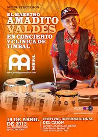 Amadito Valdes en Lima