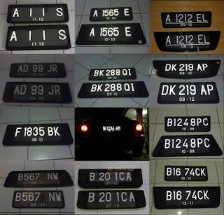 Daftar Kode Plat No Kendaraan di Indonesia (Lengkap)