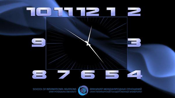 Часы на весь экран онлайн