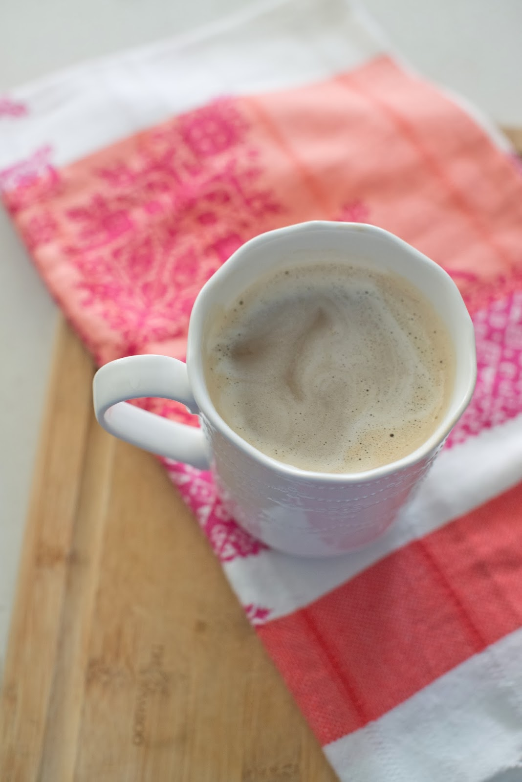 Skinny Silk Soy Milk Egg Nog Latte Recipe--only 90 calories (vegan)
