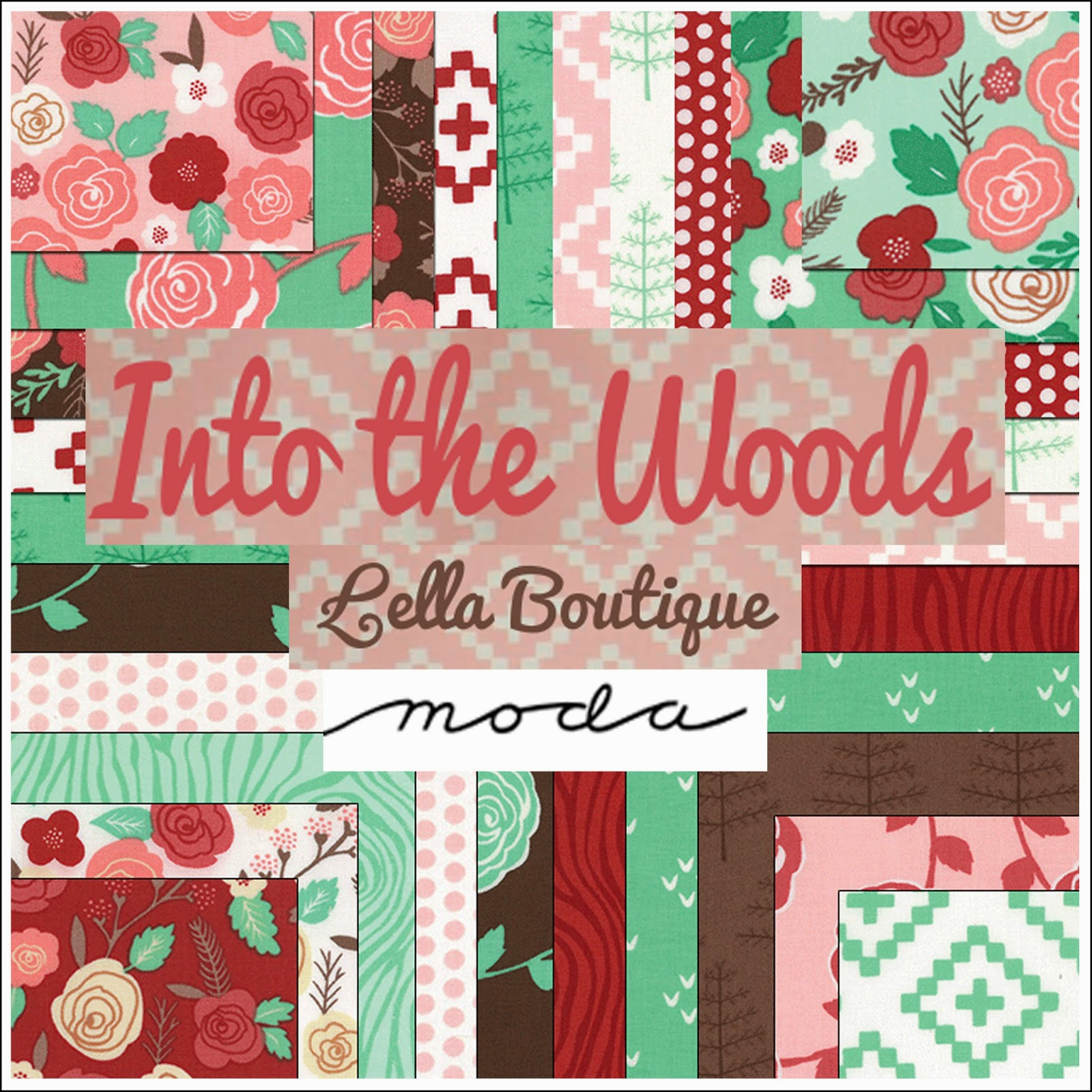 Moda INTO THE WOODS Quilt Fabric by Lella Boutique for Moda Fabrics
