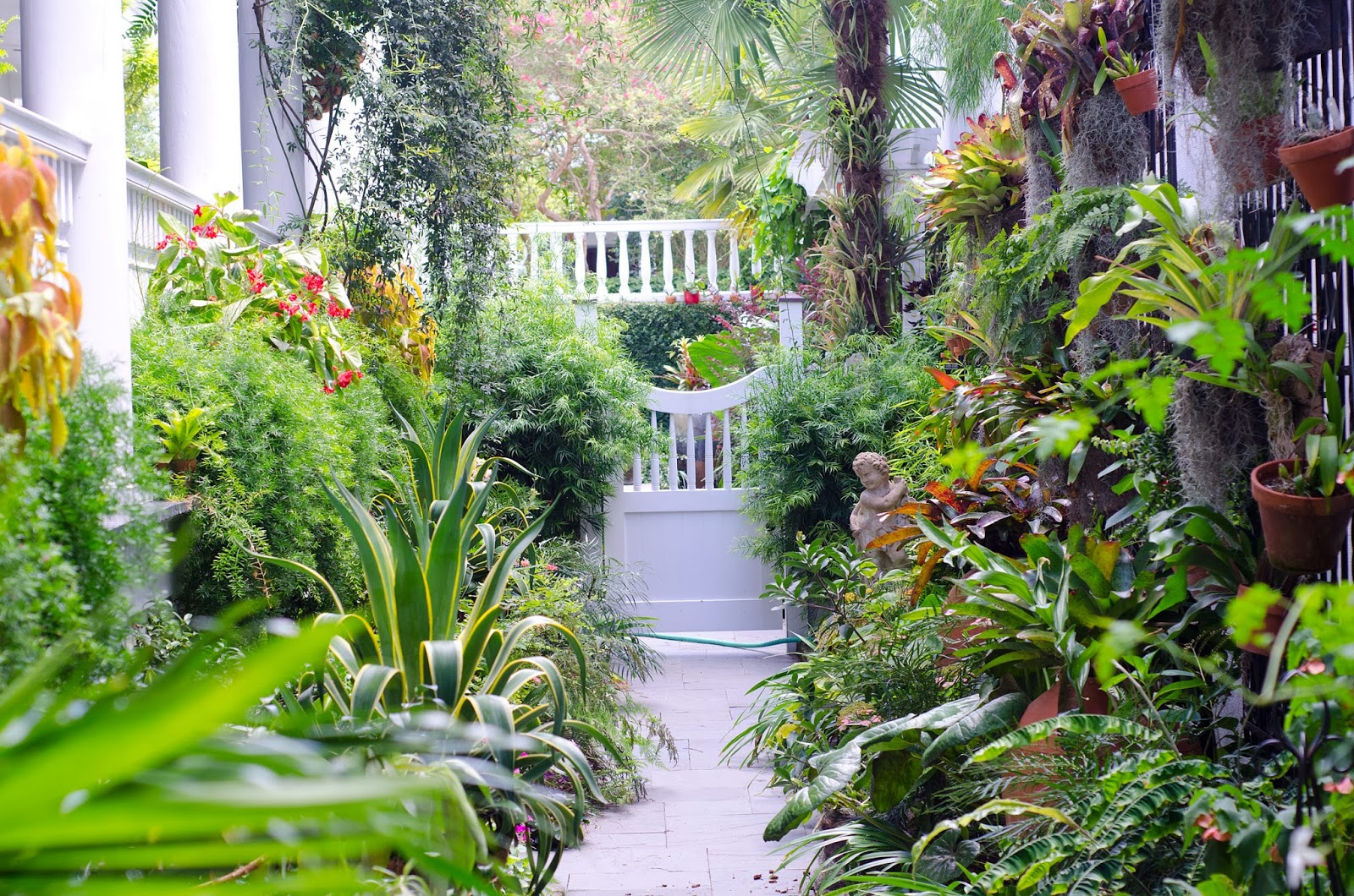 Secret gardens for Amenagement jardin photos