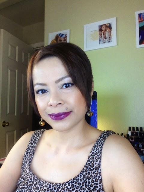 MAC Lorde lipstick in Pure Heroine