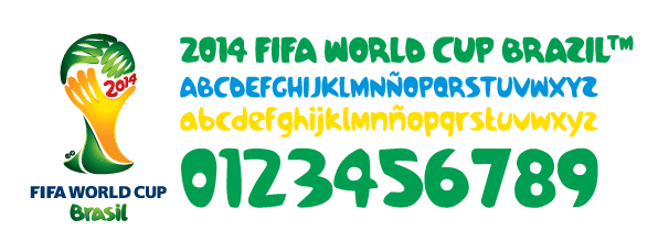FIFA World Cup 2014 Qualifiers logo patch