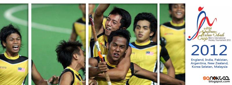 Hoki Piala Sultan Azlan Shah 2012 | Jadual & Keputusan