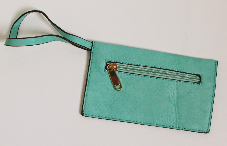 bolsa feminina verde menta lefity