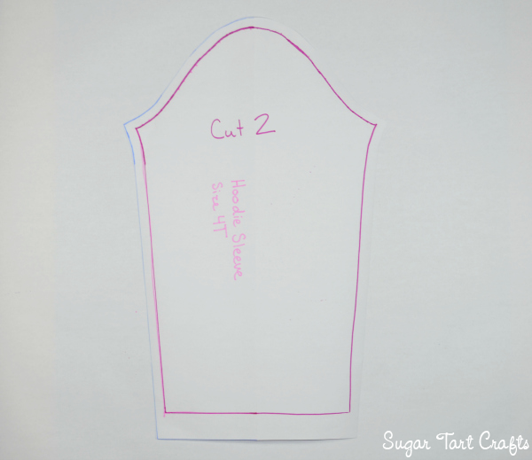 My Little Pony Costume Sew-Along Day 1: Hoodie Pattern