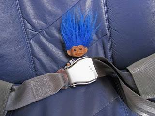 Troll on plane
