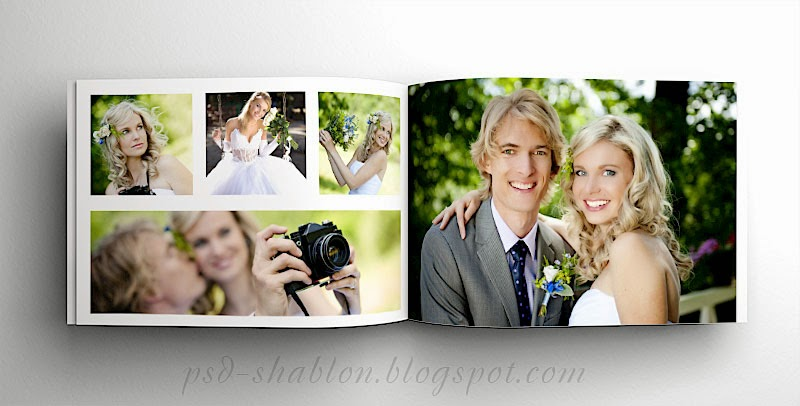 Как сделать свадебной фотокниге