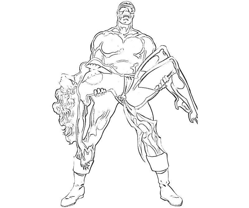 X Men Cyclops Abilities Yumiko Fujiwara Cyclops Coloring Pages