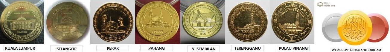 Selling Gold Dinar & Silver Dirham Coin & Bar (Amsyiq, DGE, SGE gold & silver products)