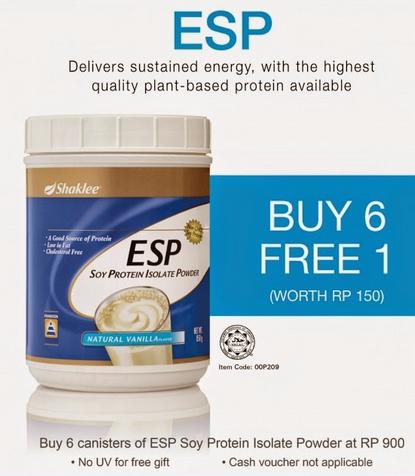 Promosi ESP Shaklee Item Paling Hot On Demand dan Keahlian Percuma