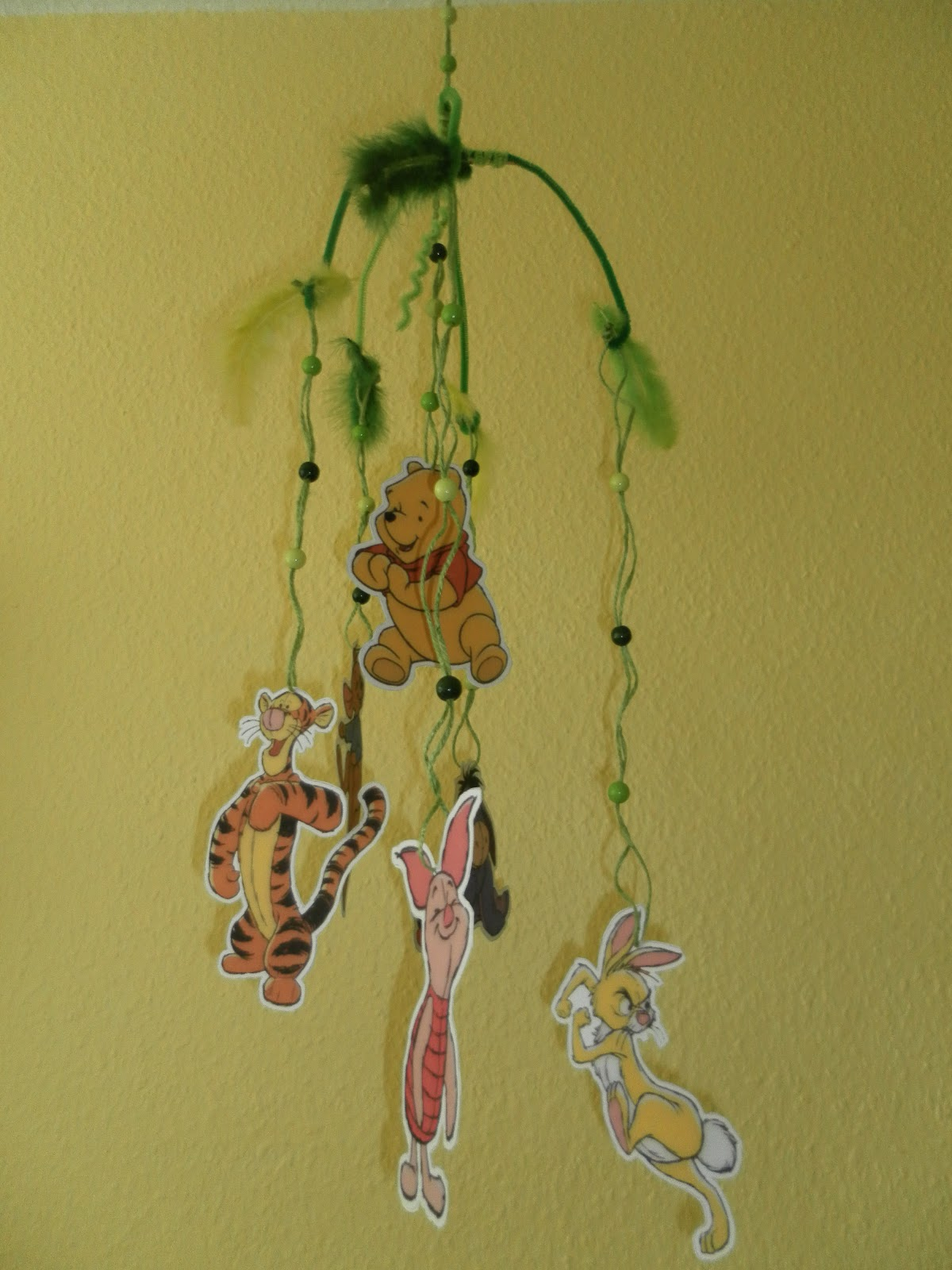 Nuckelpille by BF: Bastel - Tipp Winnie Pooh Mobile