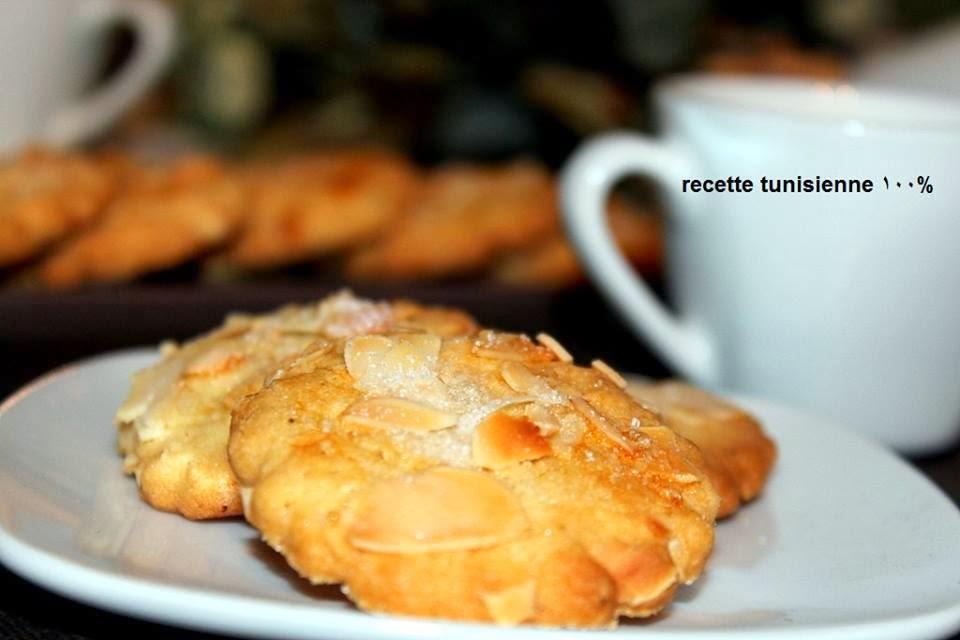 Recette Biscuits aux amandes