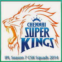 IPL Season 7 Chennai Super Kings Squads Profile and Squads Logo Chennai Super Kings IPL 7 Scorecards