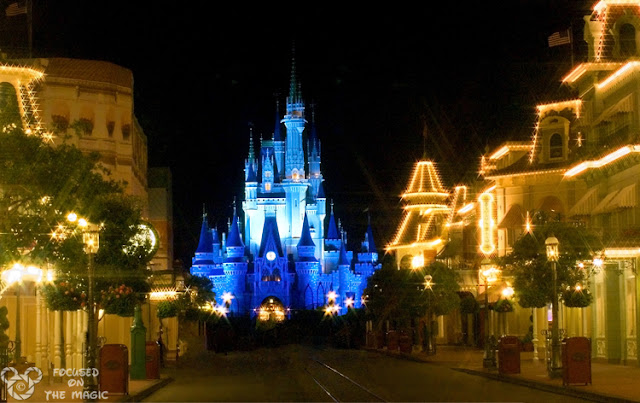 Magic Kingdom  Night Photography