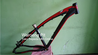 jual frame united dominate merah hitam sepeda mtb gunung downhill murah terjangkau 2