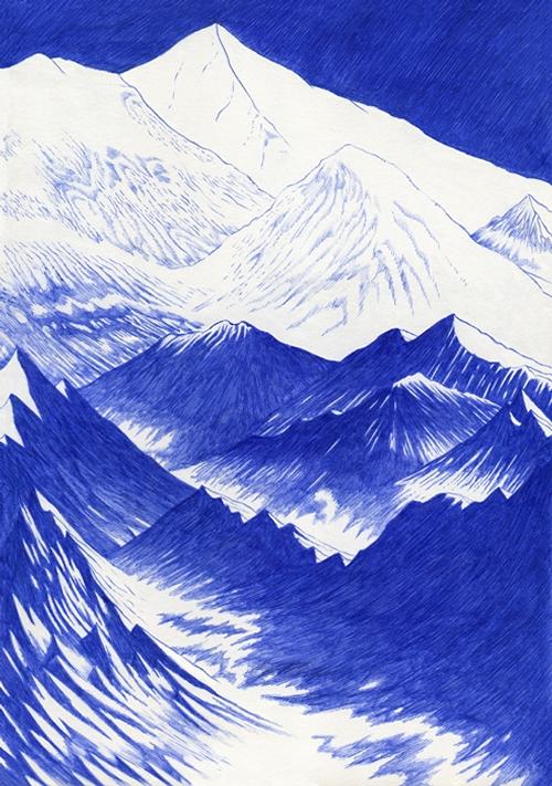 08-Laigle-Copie-Kevin-Lucbert-Ballpoint-Biro-Pen-Drawings-www-designstack-co