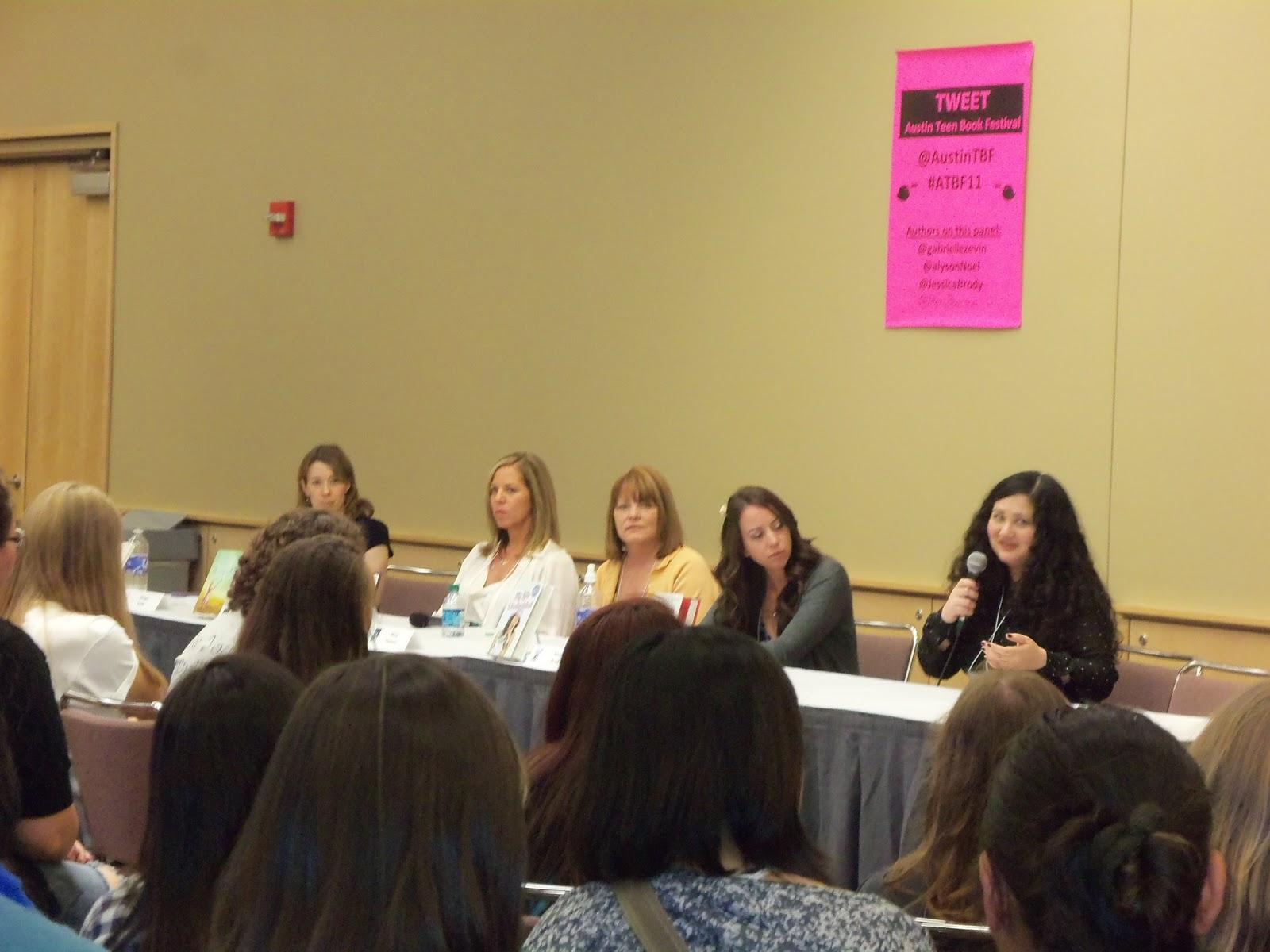 The Second Panel I Attend Was Pen Fatale With Margo Rabb, Alyson Noel, Mary  E Pearson, Jessica Brody And Gabrielle Zevin Alexandra Adornetto Didn't  Make