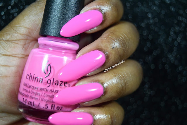 "China Glaze Electric Nights ""Glow With The Flow"" Swatch"