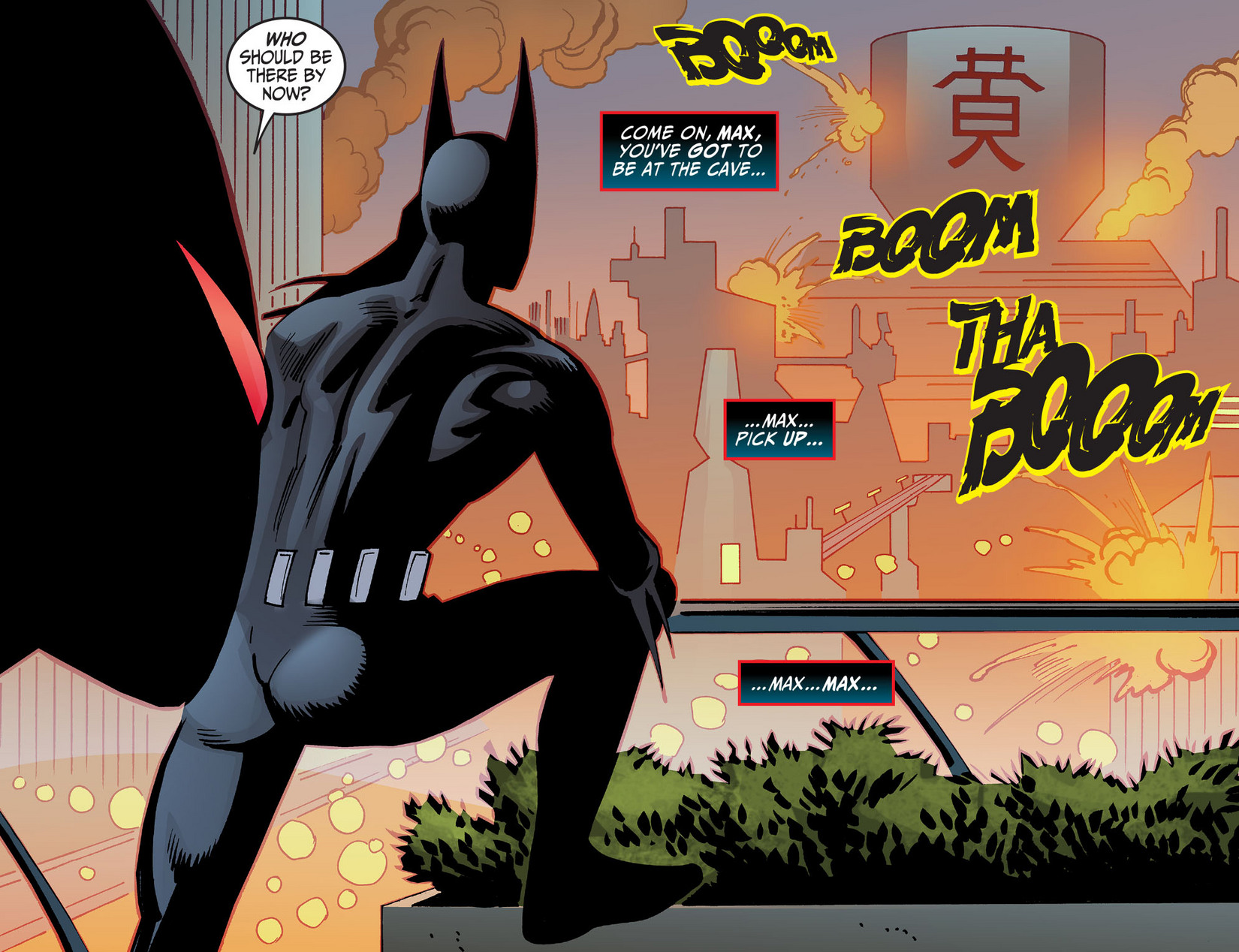 Batman Beyond (2012) Issue #13 #13 - English 10