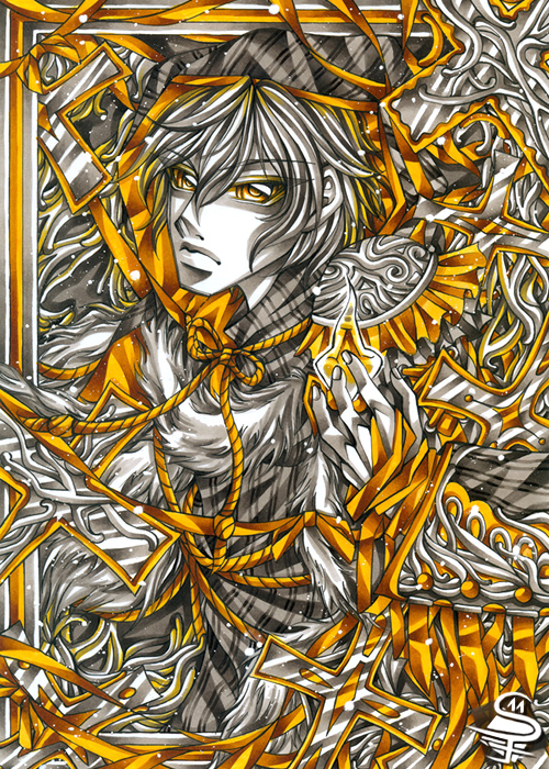 02-Eternal-Flame-Sandra-Filipova-DarkSena-Manga-Black-and-White-and-Colour-Detailed-Drawings-www-designstack-co