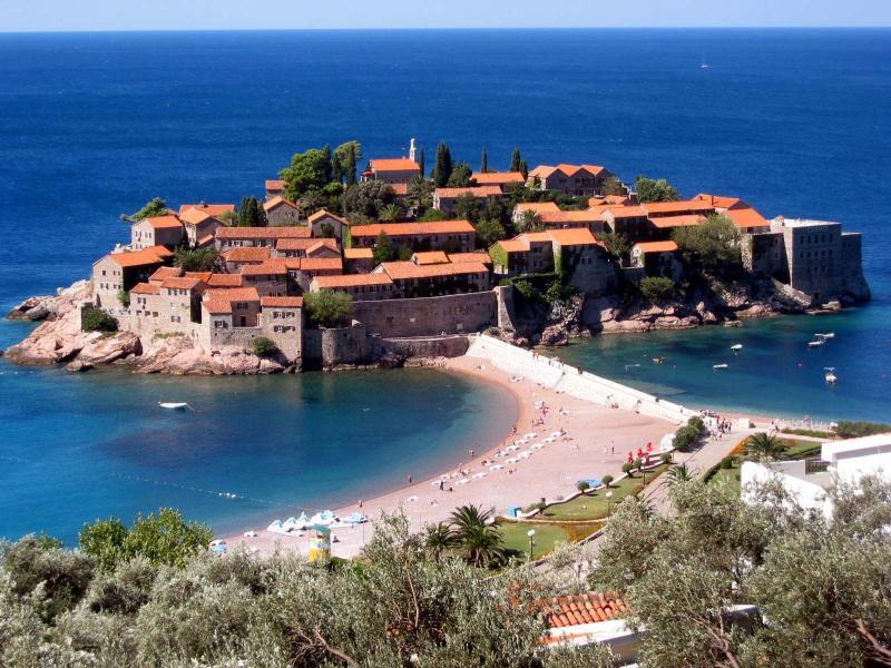 World Visits Sveti Stefan Wonderful Small Island