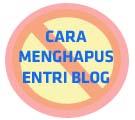 hapus blog entry