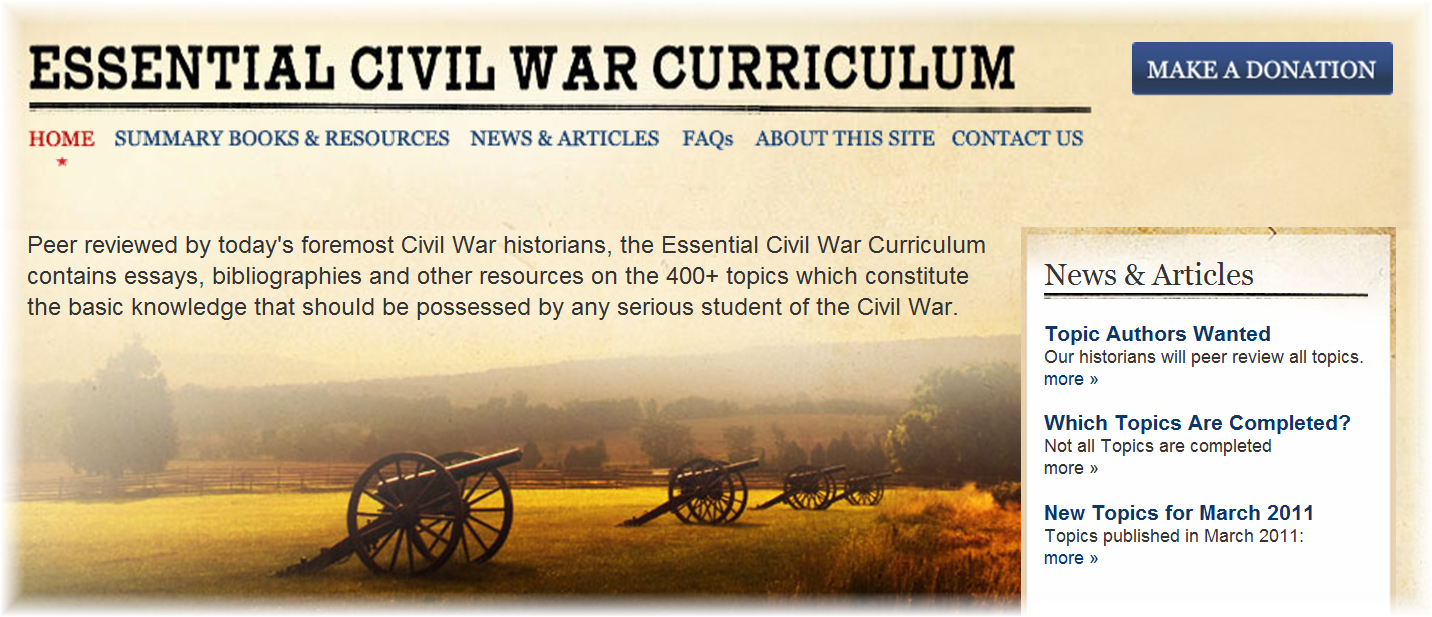 civil war 2 essay The civil war continues to be a powerful story that has never lost its appeal to the general public go to any bookstore today (particularly in the south) and there will be a section devoted entirely to the civil war.