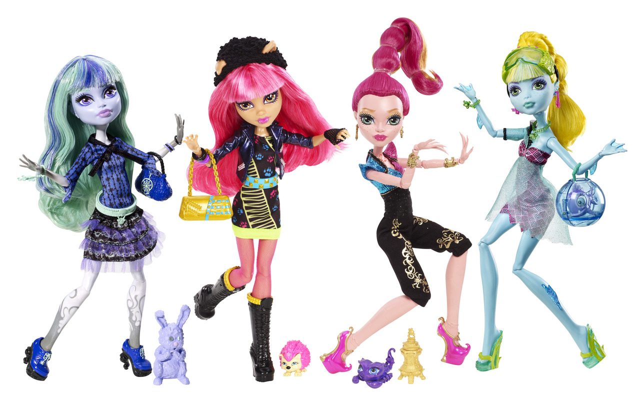 Monster High: 13 Deseos (13 Wishes) y Laboratorio