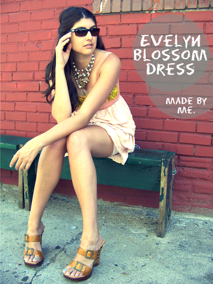 Evelyn Blossom dress