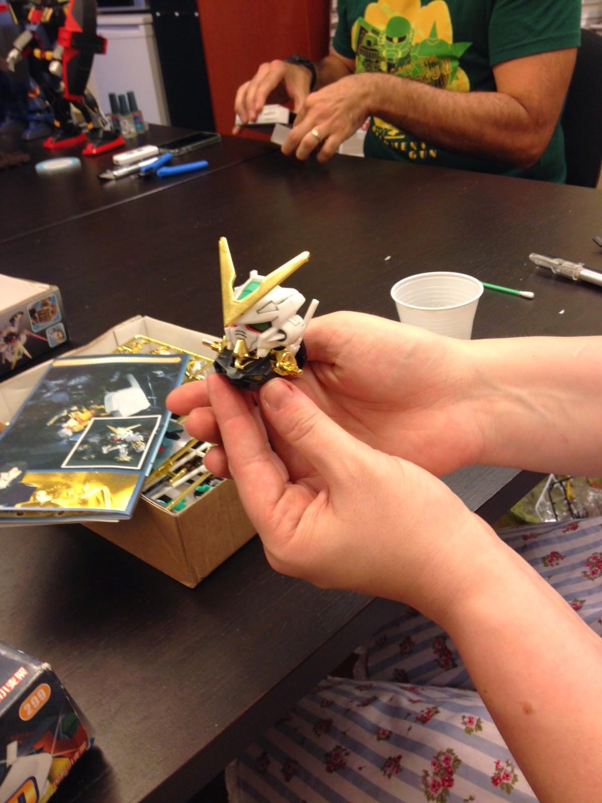 MBF-P01 Gundam Astray Gold Frame SD