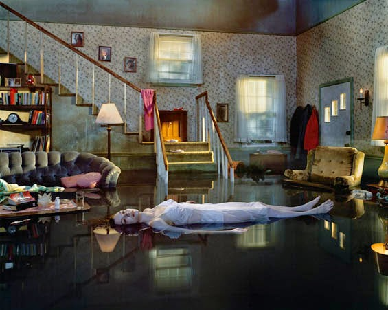 Gregory Crewdson's Photographs Look Like Eerie Cinematic Crime Scenes