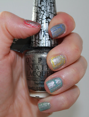 OPI SIlver Shatter test essai