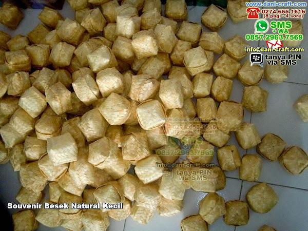 souvenir besek natural kecil Bambu Surabaya 714691