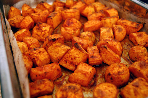 Go Bake or Go Home: Roasted Spiced Sweet Taters