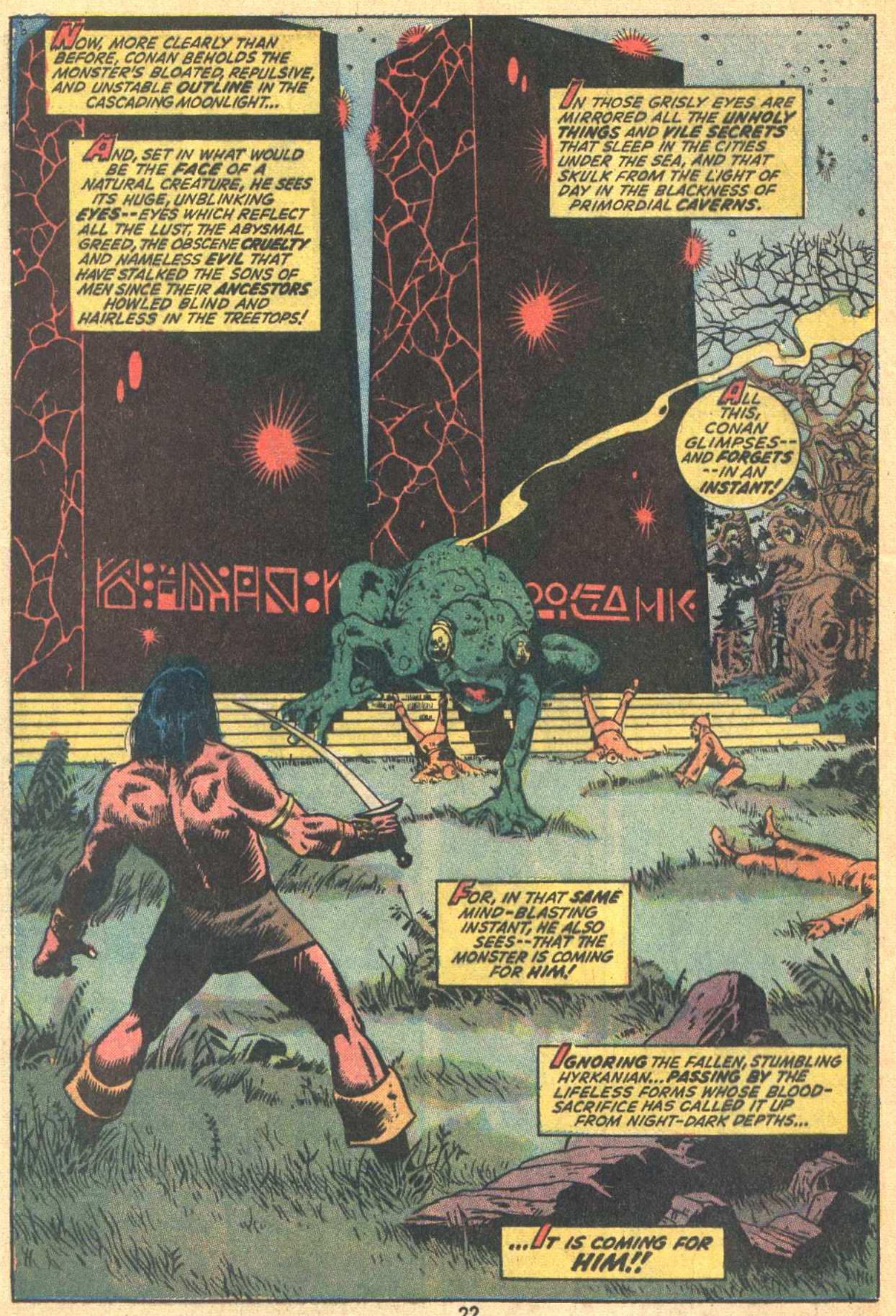 Conan the Barbarian (1970) Issue #21 #33 - English 17