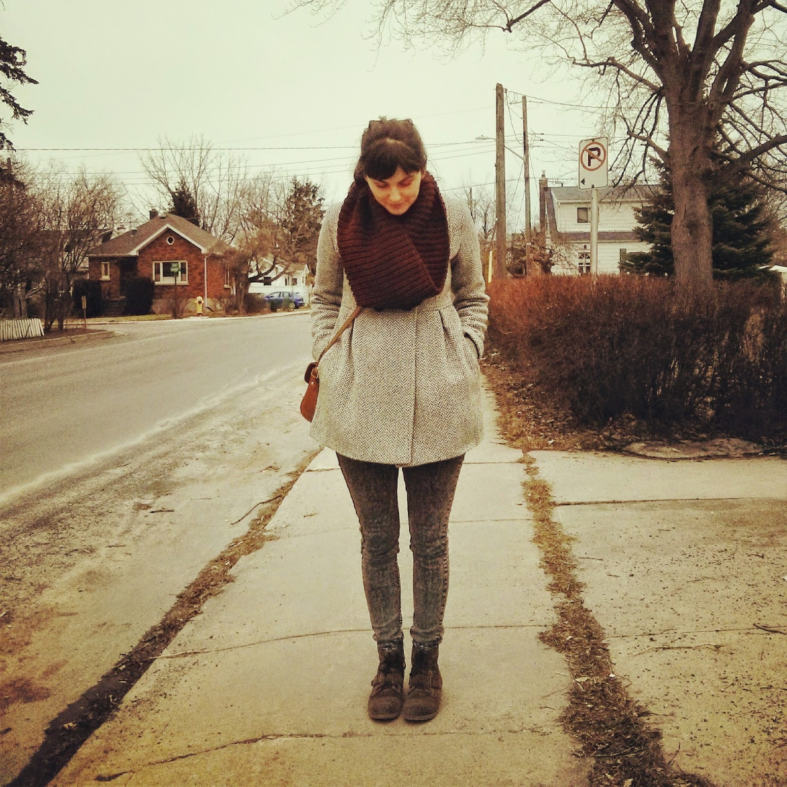 ootd, early spring fashion, fashion blogger Canada