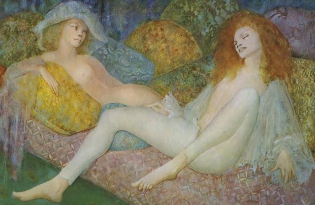 Leonor Fini | 1907-1996 | argentino pittore surrealista