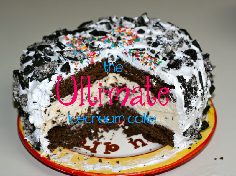 The two of us scrumptious wednesday the best homemade icecream cake