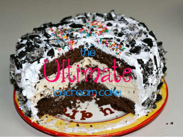 ... the two of us: Scrumptious Wednesday: The best homemade icecream cake